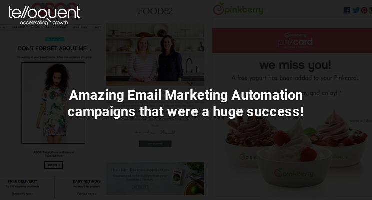 Email marketing automation campaign