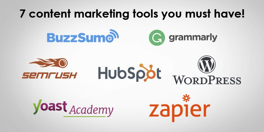 7 content marketing tools